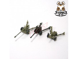 Takara 1/144 WTM 07 #138_ Set 3 Anti-Tank Guns_German Russia Britain WWII TTX24U
