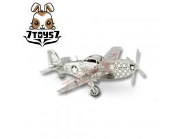 Tenyo Metallic Nano Puzzle_ P-51 Mustang _US Aircraft TN002A