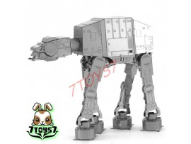 Tenyo Metallic Nano Puzzle - Star Wars_ AT-AT _Now TN003D