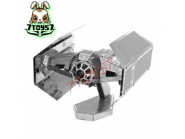 Tenyo Metallic Nano Puzzle - Star Wars_ TIE Fighter _Now TN003C