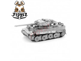 Tenyo Metallic Nano Puzzle_ Tiger I _German Tank WWII TN002C