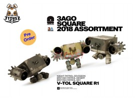 [Pre-order] ThreeA 3A 1/6 3AGO 2018 Assortment V-TOL Square_ Box Set _Ashley Wood 3A388Z