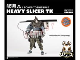[Pre-order] 3A ThreeA 1/12 Action Portable - Heavy Slicer TK 7 Bones Yoshitsu_ Figure Set _Ashley Wood 3A374A