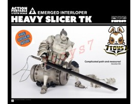 [Pre-order] 3A ThreeA 1/12 Action Portable - Heavy Slicer TK Emerged Interloper_ Figure Set _ Ashley Wood 3A374B