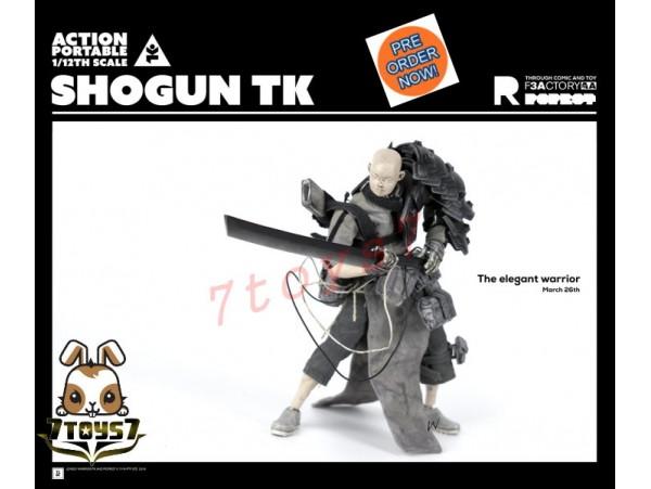 [Pre-order] 3A ThreeA 1/12 Action Portable - Shogun TK Tsuki_ Figure Set _Ashley Wood 3A381Z