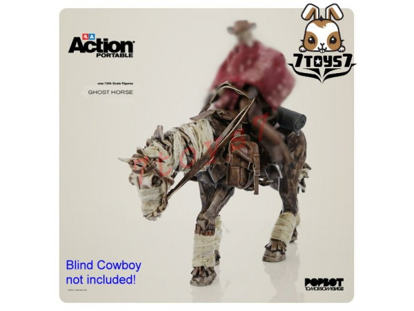 3A ThreeA 1/12 Action Portable Wave 02 - Ghost Horse_ Figure Set _Now 3A305B