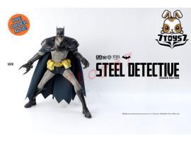 [Pre-order] 3A ThreeA 1/6 Steel Age - Steel Detective Batman_ retail Box Set _DC Asley Wood 3A384Z