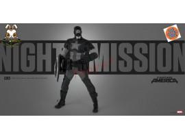 [Pre-order] 3A ThreeA 1/6 Marvel Night Mission Captain America_ Box Set _Retail version 3A370Z