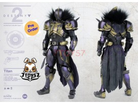 [Pre-order deposit] Threezero 1/6 Destiny 2 Titan Golden Trace Shader_ Box Set _3A406A