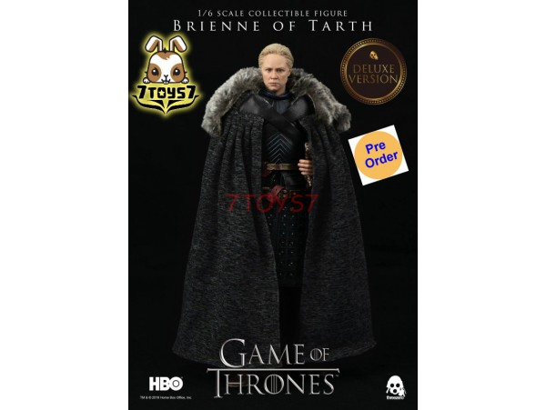 [Pre-order] Threezero 1/6 Game of Thrones: Brienne of Tarth_ Deluxe Box Set _TV 3A390Z