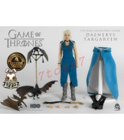 Threezero 1/6 Game of Thrones: Daenerys Targaryen_ Exclusive Box Set _TV Now 3A335Y