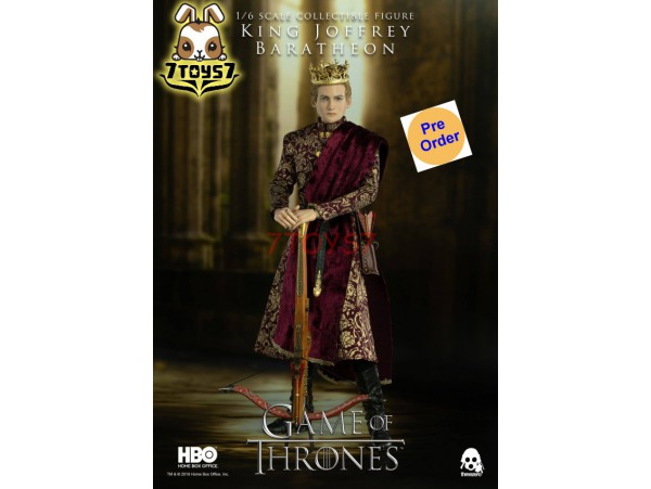 [Pre-order] Threezero 1/6 Game of Thrones - King Joffrey Baratheon_ Box Set _3A411Z