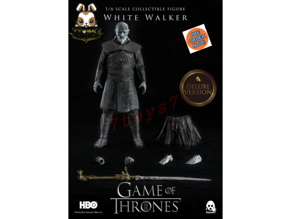 [Pre-order] Threezero 1/6 Game of Thrones: White Walker_ Deluxe Box Set _TV 3A380Y