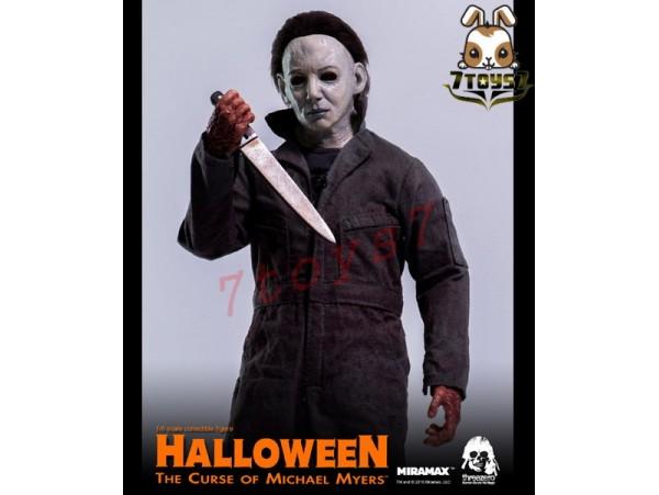 Threezero 3A 1/6 Halloween 6 - The Curse of Michael Myers_ Box _Retailer 3A331Z