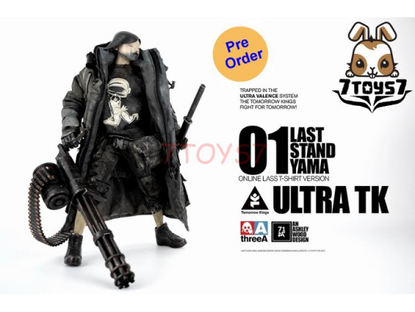 [Pre-order] 3A ThreeA 1/6 Last Stand Yama - Ultara TK_ Online Edition Box Set _Tomorrow King Ashley Wood 3A410A