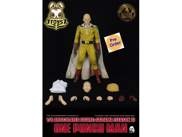 [Pre-order] Threezero 1/6 One-Punch Man - Saitama (Season 2)_ Deluxe Box Set _3A418Y