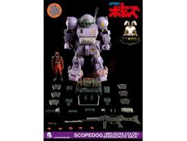 [Pre-order] Threezero 1/6 Armored Trooper Votoms Scopedog Melquiya color and Parachute Sack_ Box _3A375Z