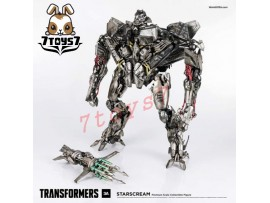"3A ThreeA 16"" Transformers Starscream_ Box Set _LED Eyes Retail Now 3A277Y"