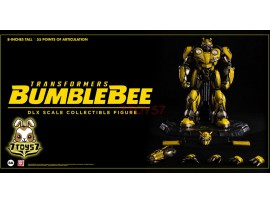 "3A ThreeA 8"" Transformers DLX Bumblebee_ Box Set _Die-cast LED eyes Ship Now 3A395Z"