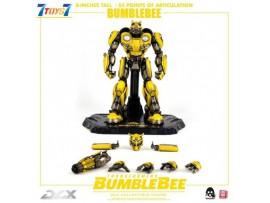 "Threezero 8"" Transformers DLX Bumblebee_ Box Set _Die-cast LED eyes 3A433Y"