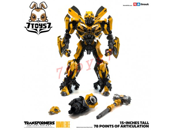 "3A ThreeA 15"" Transformers The Last Knight: Bumblebee_ Bambaland Version Box Set _3A354Y"