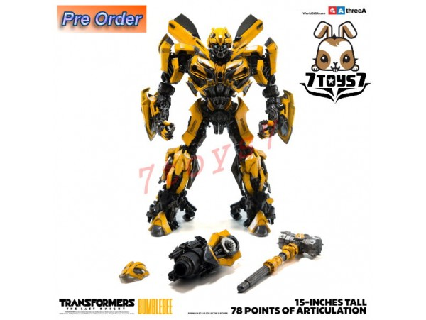 "[Pre-order] 3A ThreeA 15"" Transformers The Last Knight: Bumblebee_ Bambaland Version Box Set _3A354Y"