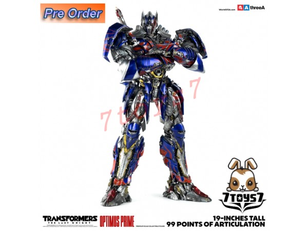 "[Pre-order] 3A ThreeA 19"" Transformers The Last Knight: Optimus Prime_ Retail Version Box Set _3A353Z"