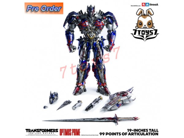 "[Pre-order] 3A ThreeA 19"" Transformers The Last Knight: Optimus Prime_ Bambaland Version Box Set _3A353Y"