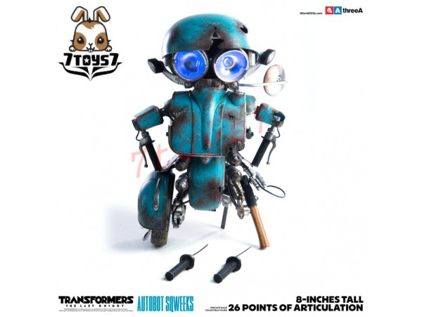 3A ThreeA 1/6 Transformers The Last Knight: Autobot Sqweeks_ Retail Version Box Set _3A355Z