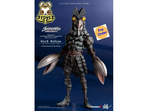 [Pre-order] Threezero x Ryu Oyama 1/6 Dark Baltan (Retail)_ Box set _3A422Z
