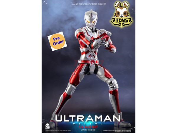 [Pre-order deposit] Threezero 1/6 Ultraman ACE SUIT Anime Version_ Box Set _3A421Z