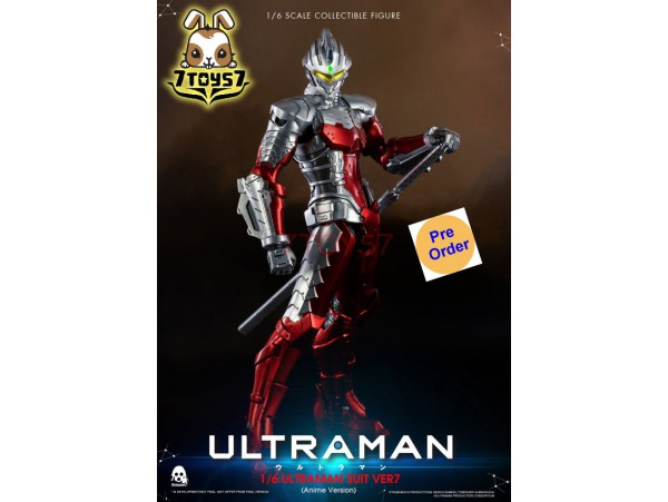 [Pre-order] Threezero 1/6 Ultraman Suit Ver7 Anime Version_ Box Set _3A398Z