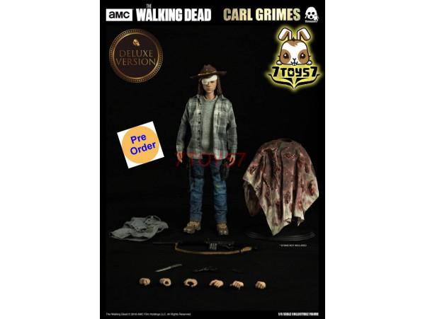 [Pre-order] Threezero 1/6 Walking Dead - Carl Grimes_ Deluxe Box Set _TV Now 3A393Y