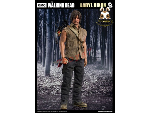 Threezero 1/6 Walking Dead - Daryl Dixon_ Box Set _Now 3A358Z