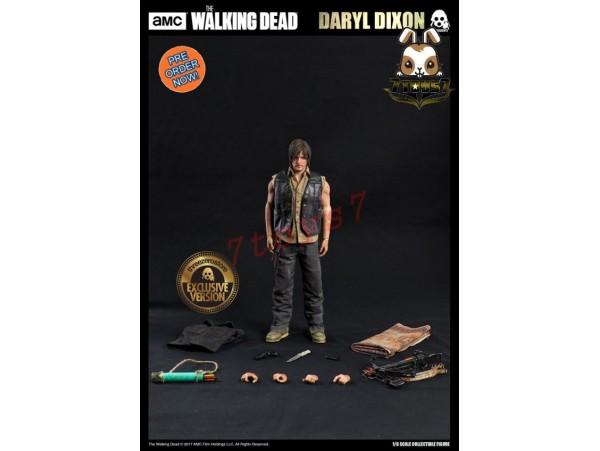 [Pre-order] Threezero 1/6 Walking Dead - Daryl Dixon_ Exclusive Box Set _3A358Y