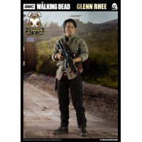 Threezero 1/6 The Walking Dead - Glenn Rhee_ Box Set _AMC TV 3A379Z