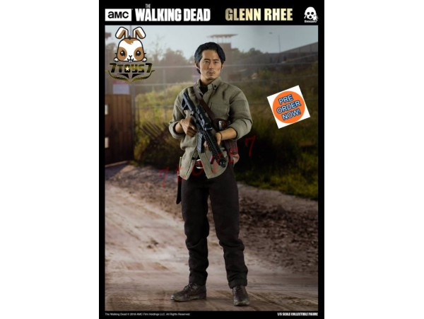 [Pre-order] Threezero 1/6 The Walking Dead - Glenn Rhee_ Box Set _AMC TV 3A379Z