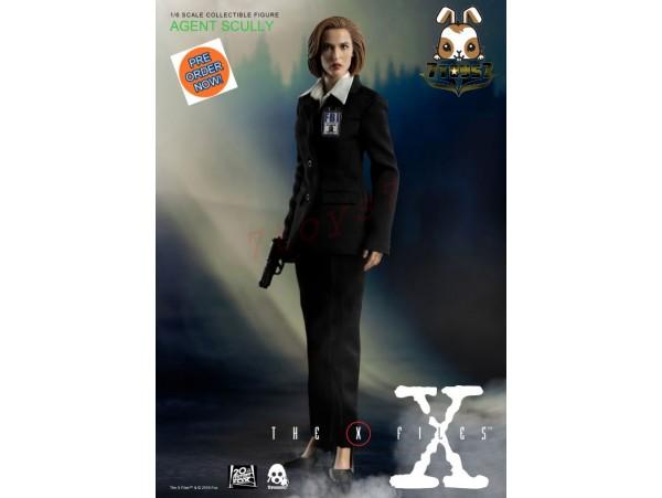 [Pre-order] Threezero 1/6 The X Files - Agent Scully_ Box Set _TV Movie 3A382Z