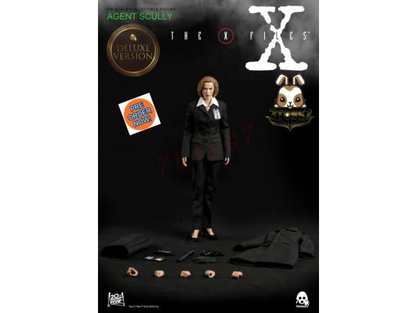 [Pre-order] Threezero 1/6 The X Files - Agent Scully_ Deluxe Box Set _TV Movie 3A382Y