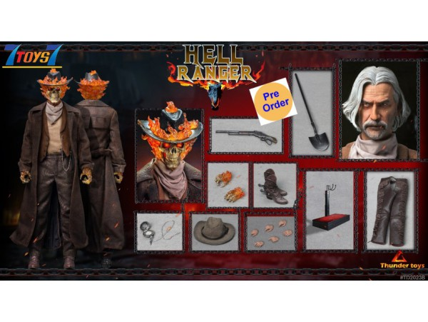 [Pre-order deposit] Thunder Toys 1/6 TD2023B Hell Ranger_ Box Set _TH002B