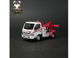 Tiny Die-cast Hino 300 World Champion Tow Truck Special Edition_ limit Box _TE014Z