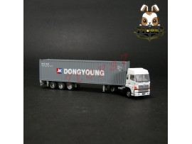 TomyTec 1/150 Trailer 8 #71 DongYang 40ft. Container Hino TY038A