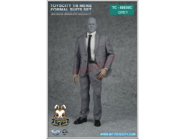 TOYS CITY 1/6 68030C Mens formal Suits_ Grey Set _Now TC060C