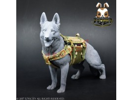 TOYS CITY 1/6 Working Dog - Tactical Body Armor_ Camo Set _Animal Now TC059B