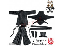 Toys Dao 1/6 TDA04B Kunoichi Clothes_ Black Set _Female Ninja ZZ117H