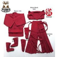 Toys Dao 1/6 Ninja Suit_ Red Set _Japanese samurai warrior Now ZZ117D