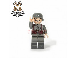 U-Custom WWII German Infantry No weapon_ Minifigure _brick UC001J
