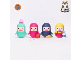 "[Pre-order] Unbox Industries 4"" Capsubeans Vinyl_ Figure Set / 4 _ZZ078Z"