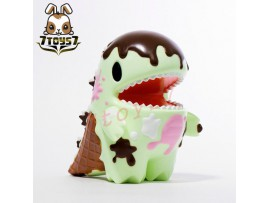 "Unbox Industries 4"" Little Dino Chocolate Mint Ice Cream_ Vinyl Figure _ZZ078S"