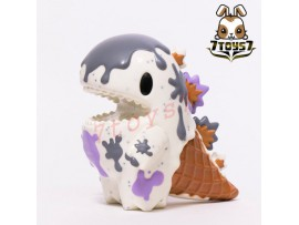 "Unbox Industries x Ziqi 4"" Little Dino Cookies & Cream_ Vinyl Figure _Now ZZ078T"